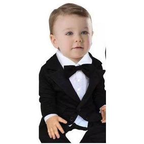 Terno Social Bebe Smoking Infantil Batizado Festas Casamento