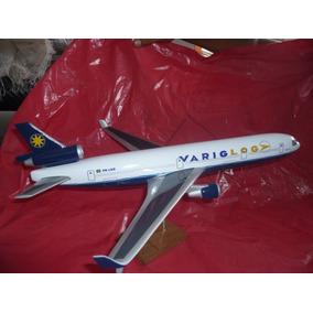 Miniatura Avião Varig Boeing