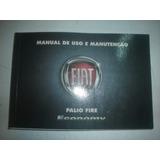 Manual Fiat Palio Fire Economy 2009 2010 1.0 8v Flex Hatch