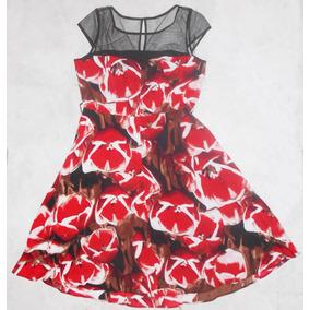 Vestido Casual Liz Claiborne Talla Mediana Nuevo Floreado