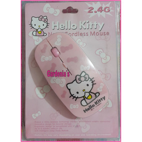 Mouse Inalambrico Hello Kitty