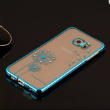 Samsung S7 Edge Funda Gold O Pink Diente De Leon