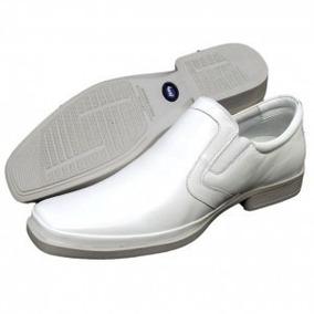 Sapato Branco Medico Enfermeiro Couro 100%legitimo Levissimo
