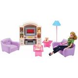 La Sala De Estar De Gloria Muebles Para Muñecas Barbie Smile