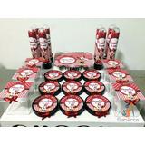 Kit Festa Personalizado Minnie Vermelha - Vários Temas