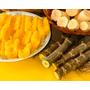 Mudas Ramas De Mandioca Amarela - Manivas - Deliciosa