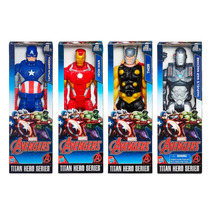 Muñecos Coleccionable Avengers Titan Hero 30cm Hasbro