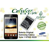 Bateria Original Samsung Galaxy Note 1 N7000 I9220
