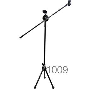 Base Para Microfono Con Boom Ajustable Hasta 1.60m Metalico