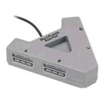 Multitap Para Sony Psone Ps1 Generico Nuevo Garantizado