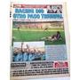 Racing Futuro Campeon 2001 Diario Cronica Y Suplemento Nov01