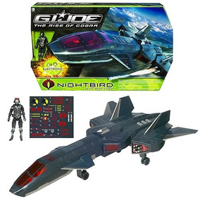 G I Joe - The Rise Of Cobra - Night Raven With Air Viper