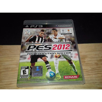 Pes 12 Pro Evolution Soccer Ps3 Perfecto Estado
