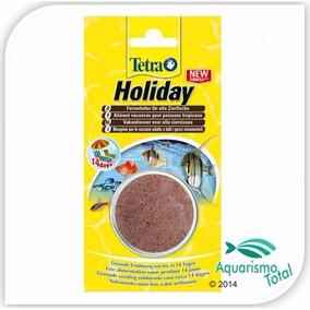 Ração Tetra Holiday Alimento P Férias Dura Até 14 Dias