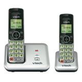 Vtech Cs6419-2 Dect 6.0 Teléfono Inalámbrico Expandible Con