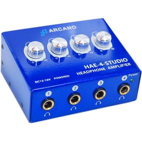 Amplificador De Fones Arcano Hae4studio Alta Qualidade