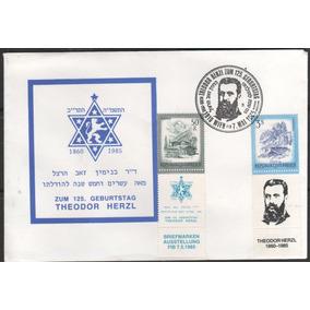 Austria - Envelope - Zum 125. Geburttag Theodor Herzl - 129