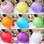 Lampara De Papel De Arroz China V/ Colores Pack X4 40 Cm