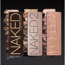 Maquillaje Sombras Urban Decay Naked, Naked 2 Naked 3