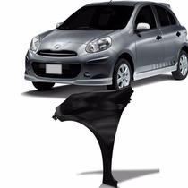 Paralama Nissan March 11 A 14 S/furo Lado Esquerdo