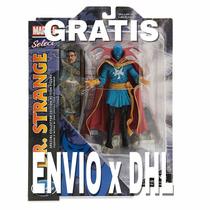 Caja Dañada Marvel Select Doctor Dr Strange Película Figura