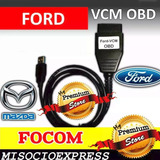 Interface Mazda Ford Lincon Escaner Interfaz Software Focom