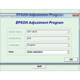 Reset Epson Workforce 2630