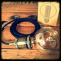 Portalampara Vintage Restoration + Foco G95+ 2m Cable Textil