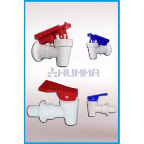 4 Canillas Para Dispenser De Agua Rosca Hembra Humma