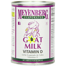 Leche De Cabra Evaporada Meyenberg Vitamina D 12 Piezas