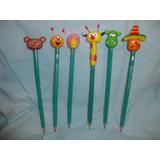 Lapices Decorados!!! Baby Tv Y Winnie The Pooh Y Sus Amigos