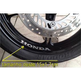 Adesivo Roda Aro Moto Honda Hornet Cb Gsx Cbr 300 450 750