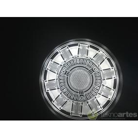 Insignia Luminosa Arc Reactor De Iron Man - Iluminado A Led