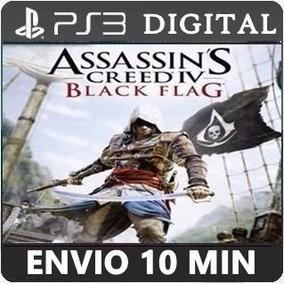Assassins Creed 4 Iv Black Flag Ps3 Código Psn Português