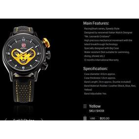 Exclusivo Reloj Shark