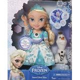 Muñeca Glowing Elsa Frozen Canta Se Ilumina Original*1844*