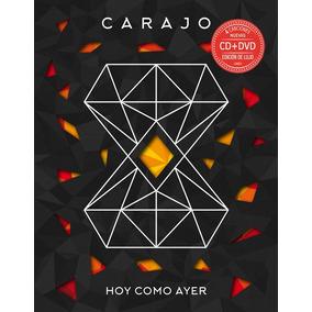 Carajo - Cd + Dvd Hoy Como Ayer 2016 (merch Oficial)