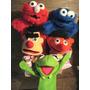 Muñecos De Plaza Sesamo Y Muppets, Rana René, Elmo, Monster