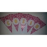 Bandeirolas Personalizadas (chá De Cozinha/panela/lingerie)