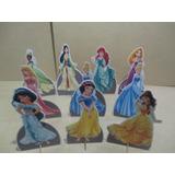 Kit 10 Display Princesas Disney Decoração De Mesa Festas
