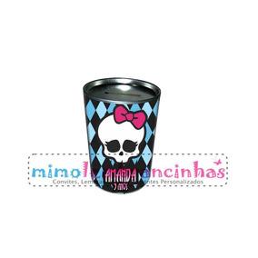 20 Cofrinho Personalizado Monster High - Lembrancinhas