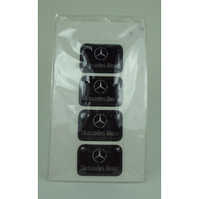 Bandeira Resinada Mercedes Benz Tarjeta Adesivo Placa* Linda