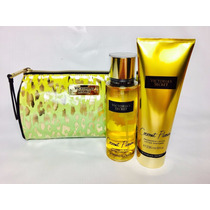 Conjunto Victoria´s Secret Necessaire E Kit Coconut Passion