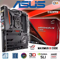 Mother Asus Z270 Maximus Ix Lga 1151 Code Nuevo Modelo