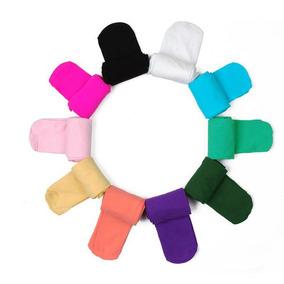 Meia Calça Infantil Fio 40 Colorida 4 A 6 Anos