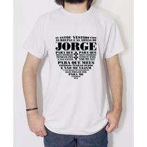 Camiseta Escudo Oração De São Jorge Paz Igreja Católica