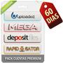 Cuenta Premium Uploaded Mega Depositfiles Rapidgator 60 Dias