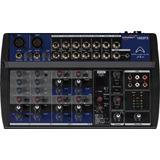 Mezcladora Wharfedale Pro 10 Canales 2xlr+4stereo Phantom Fx