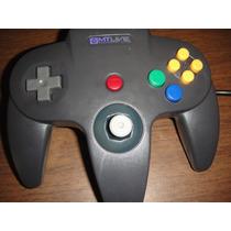 Control Nintendo N64 Nuevo Generico En Caja Garantia Consola