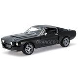 Shelby Mustang Gt500 1967 Super Snake 1:18 Preto Sc187a